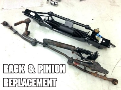 Rack and Pinion Replacement-Cost