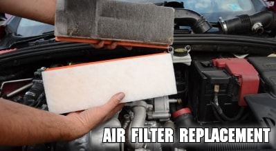 air filter replacement tune-up