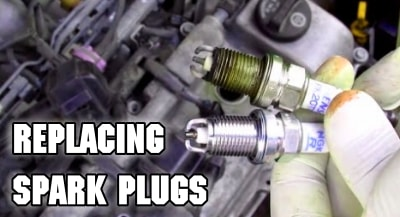 spark plug replacing tune up