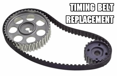 timing belt replacement tune-up