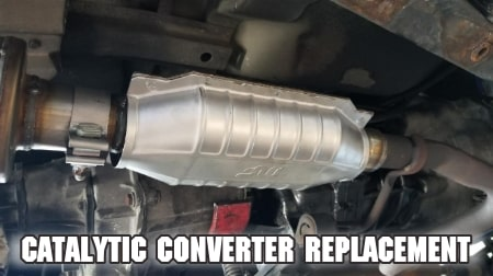 catalytic converter replacement-cost