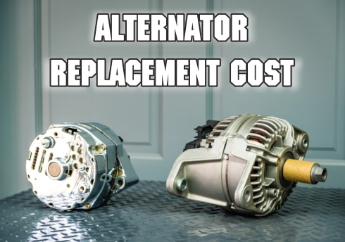 alternator replacement price