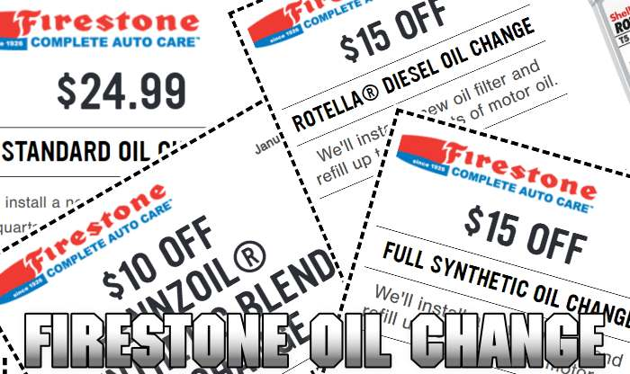 Use oil change coupon and save on your next car service appointment at Firestone Complete Auto Care