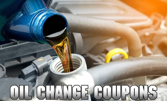 save on your next oil change with our valid coupon codes and deals